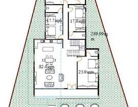 #11 for Design an house with multiple rooms af TMKennedy