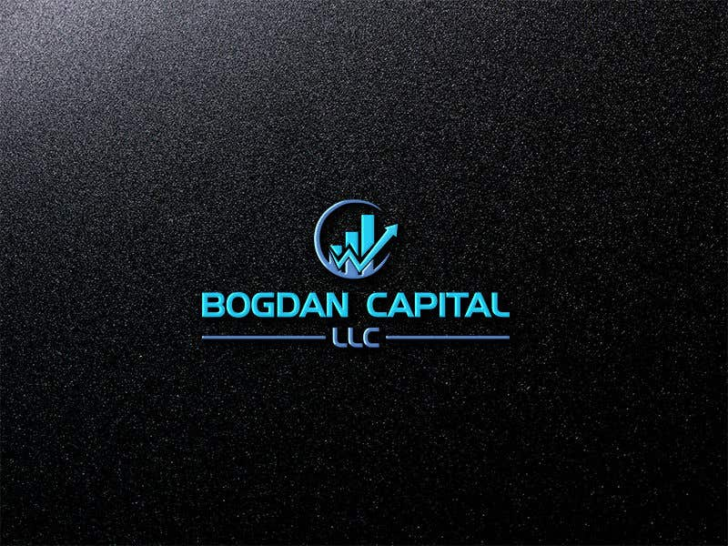 """Penyertaan Peraduan #50 untuk Need someone to create a logo for my financial business which is called """"BOGDAN CAPITAL LLC"""" Thinking to do something classy with letters something similar to what i have included in the attachment."""