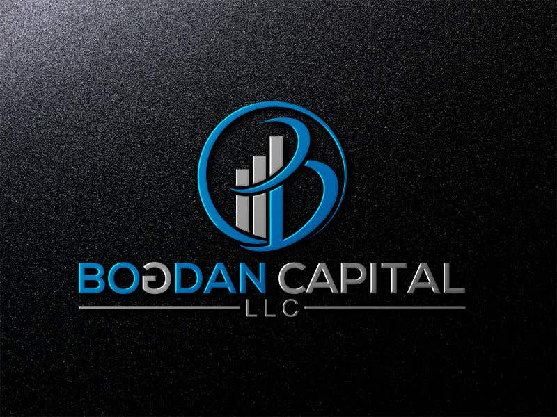 """Penyertaan Peraduan #48 untuk Need someone to create a logo for my financial business which is called """"BOGDAN CAPITAL LLC"""" Thinking to do something classy with letters something similar to what i have included in the attachment."""