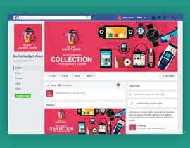 Nro 58 kilpailuun Facebook Page Design Work käyttäjältä MHjamilHowlader