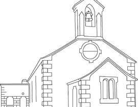 #5 for Draw an outline of this church in illustrator. by Nafizahmed1441