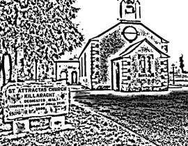 #41 for Draw an outline of this church in illustrator. by ingpedrodiaz