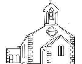#4 for Draw an outline of this church in illustrator. by ejsmith267