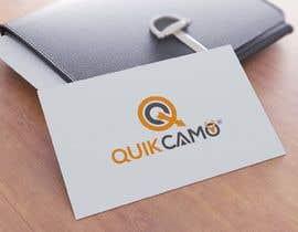 nº 88 pour QuikCamo Headwear needs a logo that speaks quality par purpledeigne