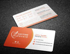 #92 for Business Cards and A-Frame Sign for Anytime Physio af chandrarahuldas