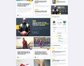 Nro 19 kilpailuun Build me a WordPress Website For Basketball team käyttäjältä jaswinder527