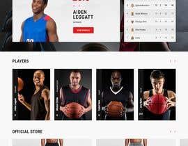 Nro 22 kilpailuun Build me a WordPress Website For Basketball team käyttäjältä mdmazharul2k17