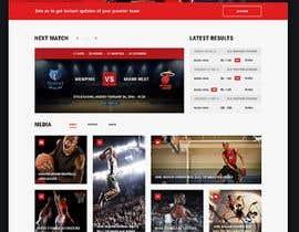 Nro 2 kilpailuun Build me a WordPress Website For Basketball team käyttäjältä GauravGadekar