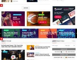 Nro 9 kilpailuun Build me a WordPress Website For Basketball team käyttäjältä mws2018