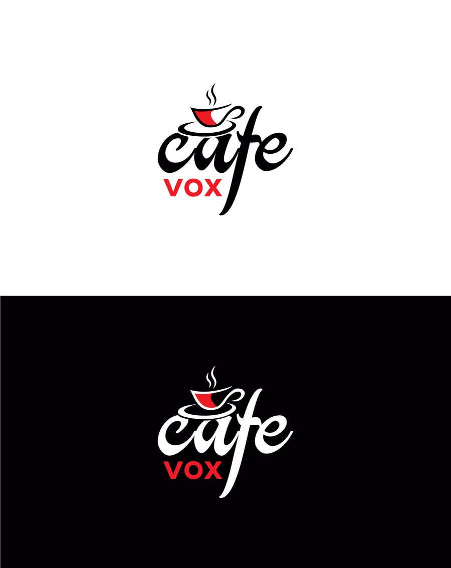 Konkurrenceindlæg #50 for Current logo attached..need a new logo...vox cafe is the name