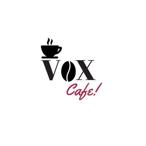 Konkurrenceindlæg #22 for Current logo attached..need a new logo...vox cafe is the name