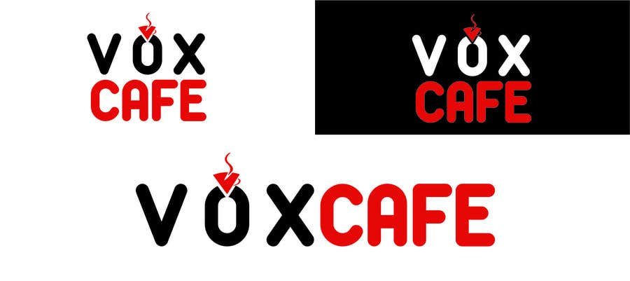 Konkurrenceindlæg #45 for Current logo attached..need a new logo...vox cafe is the name