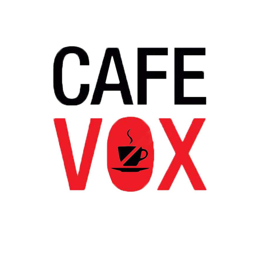 Konkurrenceindlæg #3 for Current logo attached..need a new logo...vox cafe is the name