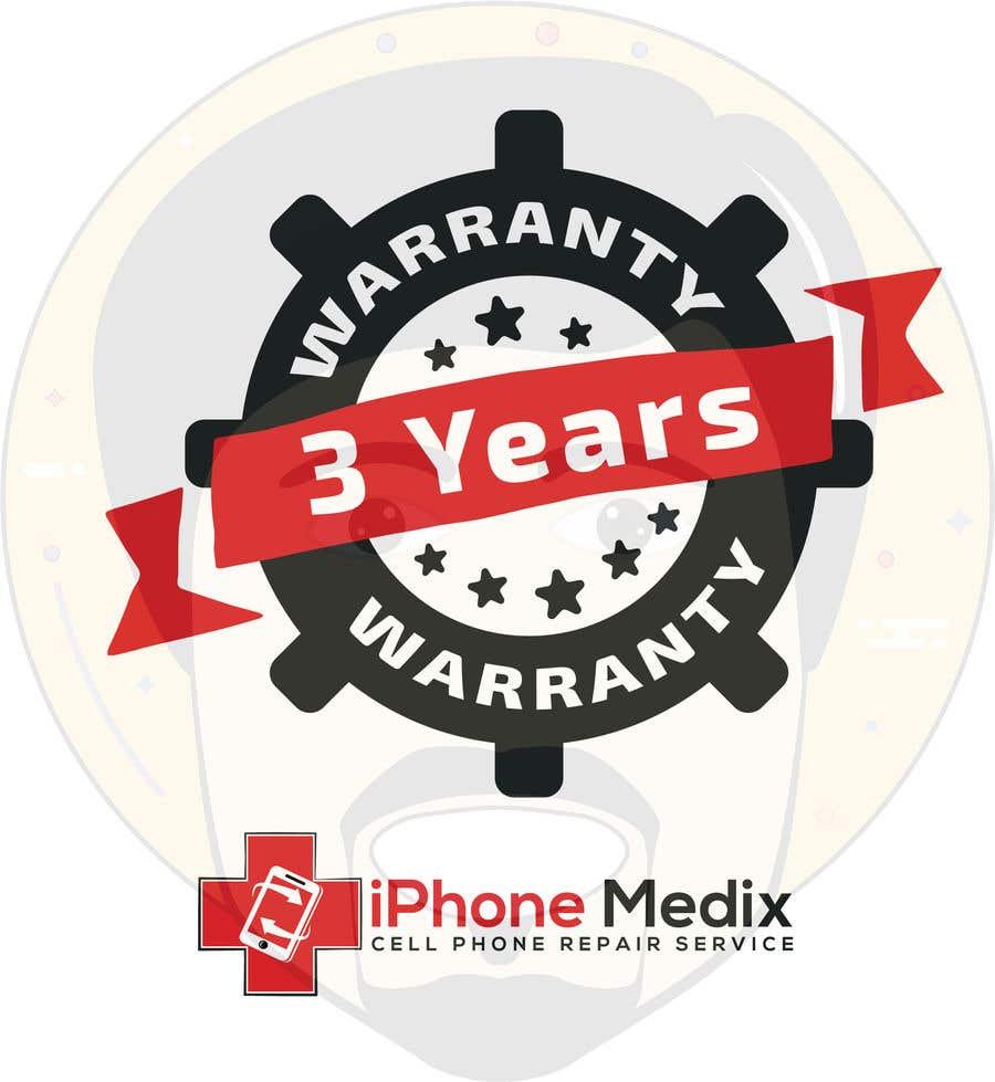 Penyertaan Peraduan #3 untuk Limited Lifetime Warranty image design