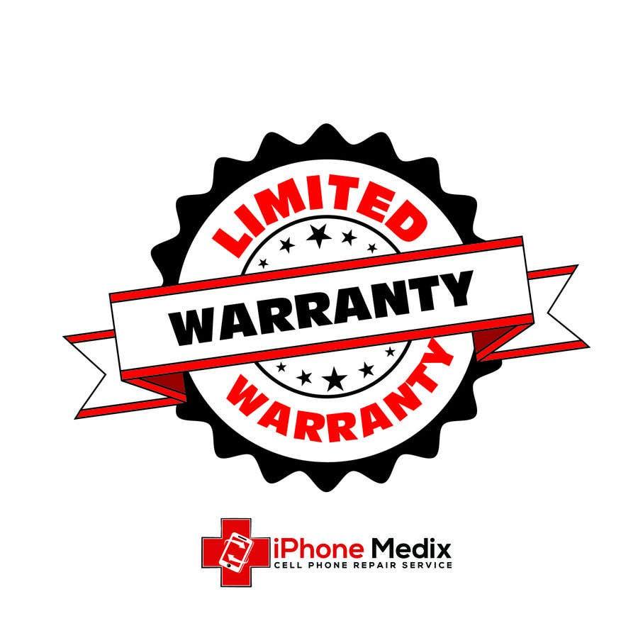 Penyertaan Peraduan #11 untuk Limited Lifetime Warranty image design
