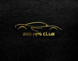 #13 untuk I need a logo for my instagram account my account my page revolves around exotic super cars! The page name is 200MPH Club oleh Onurcankayahan