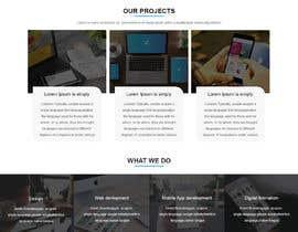 Nro 51 kilpailuun Design a website basis a design concept that's already in place. käyttäjältä rezaulhoquebd24