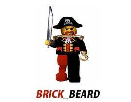 Defffe tarafından I have an online gaming account called BRICK_BEARD I need a logo designed for it için no 10