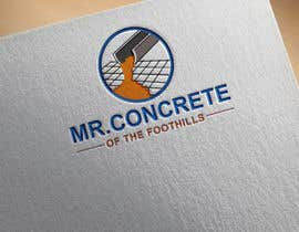 #37 for Mr Concrete of the Foothills Logo af ideaplus37