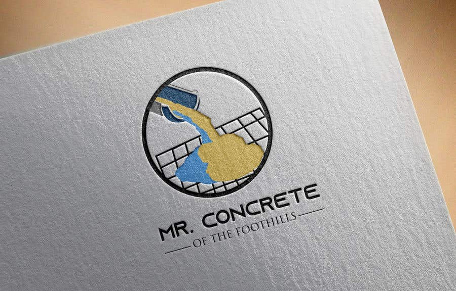 Konkurrenceindlæg #35 for Mr Concrete of the Foothills Logo