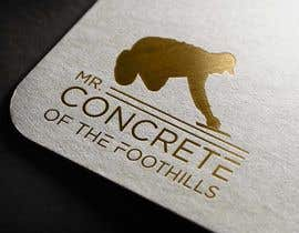 #2 for Mr Concrete of the Foothills Logo af Ghaziart