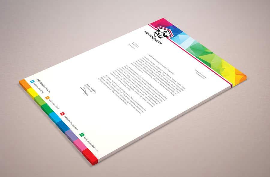 Inscrição nº 104 do Concurso para create a letter head