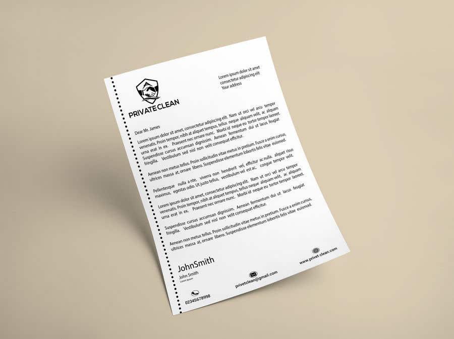 Inscrição nº 196 do Concurso para create a letter head