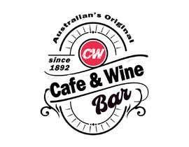 #101 untuk Logo Design - Cafe/Wine Bar oleh femolacaster