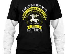 #7 cho Sagittarius Illustrated Graphic T-Shirt/Hoodie bởi murad11