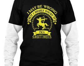 #8 cho Sagittarius Illustrated Graphic T-Shirt/Hoodie bởi murad11