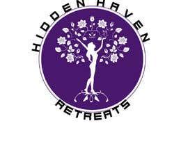 Nro 6 kilpailuun Design a logo for Hidden Haven Retreats käyttäjältä peternasser