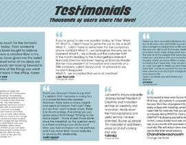 #15 para Create a testimonial page de Nixa031