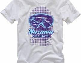 #117 for Design a T Shirt for Ski Lodge in Japan by elitesniper