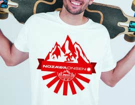 #48 for Design a T Shirt for Ski Lodge in Japan af priangkapodder