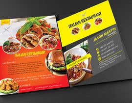 #79 for Bussines card and flyer for italian restaurant af reazuljess2