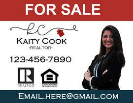 "#58 for Design My Real Estate Agent ""FOR SALE"" Sign by minironca"