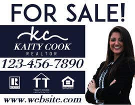 "#59 for Design My Real Estate Agent ""FOR SALE"" Sign by mbhivy12new"