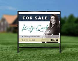 "#48 for Design My Real Estate Agent ""FOR SALE"" Sign by megtanael"