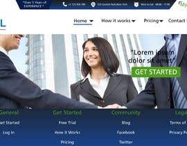 Nro 4 kilpailuun Design Homepage käyttäjältä danieledeplano
