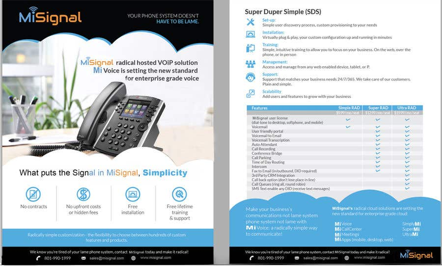 Entry #6 by designersumitra for 2 page brochure | Freelancer