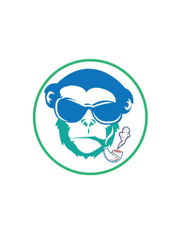Kilpailutyö #10 kilpailussa I need a logo designed for an upper market vape and marijuana store named Monkey Budz the logo must contain 2 monkey heads one smoking a blunt the other vaping. Something classy that will appear to both young and old generations
