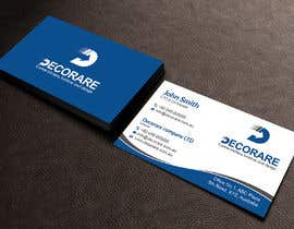 #47 untuk Design a Logo and a Business Card (Decorare) oleh patitbiswas
