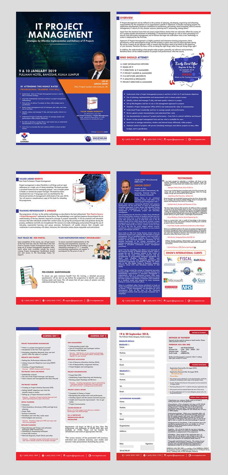 Kilpailutyö #52 kilpailussa PDF Brochure New Design
