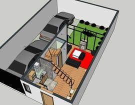 #6 for Floor plan for duplex house af visibilizar