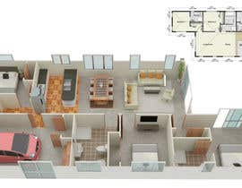 #9 for 3D Render of Floor plan by anto2178