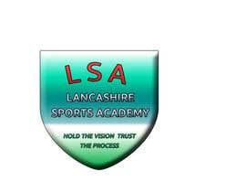 imagevideoeditor tarafından LOGO DESIGN Lancashire Sports Academy için no 13