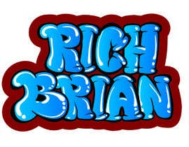"#286 for ""RICH BRIAN"" custom style logo by Jasmmin"