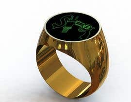 "Nro 40 kilpailuun Design a mens ring with my logo ""MONEY, PLUG, GUN"" käyttäjältä drcworkplace"