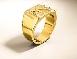 "Nro 19 kilpailuun Design a mens ring with my logo ""MONEY, PLUG, GUN"" käyttäjältä behzadfreelancer"