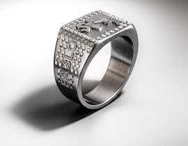 """Číslo 22 pro uživatele Design a mens ring with my logo """"MONEY, PLUG, GUN"""" od uživatele behzadfreelancer"""